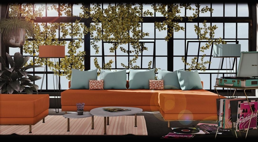 GOOSE - Axana living room