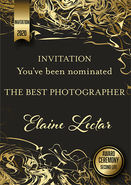 INVITATION AWARD Elaine Lectar
