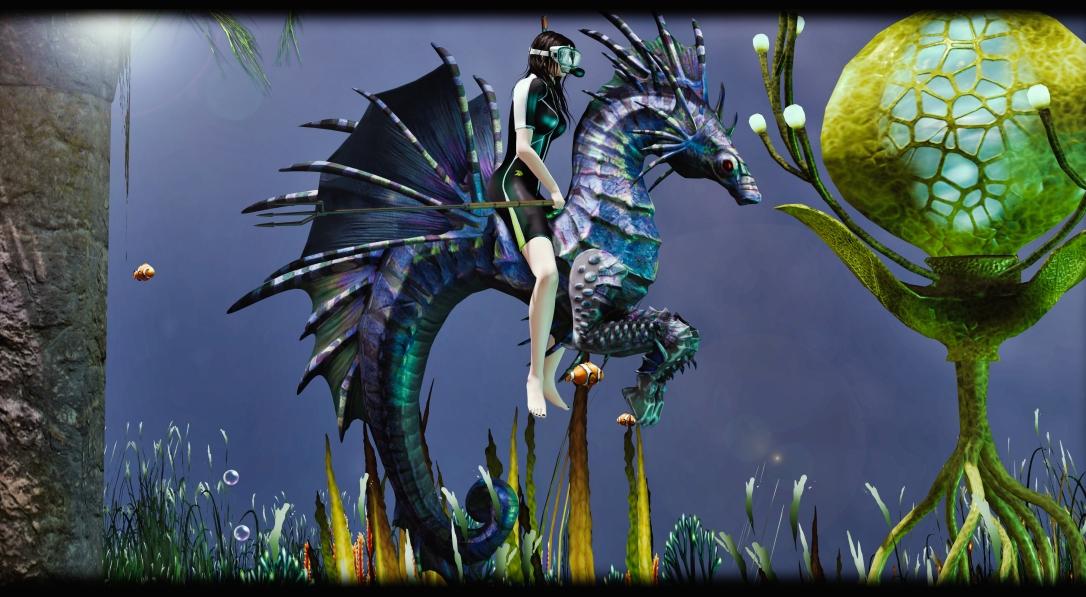MADPEA - Atlantis Seahorse