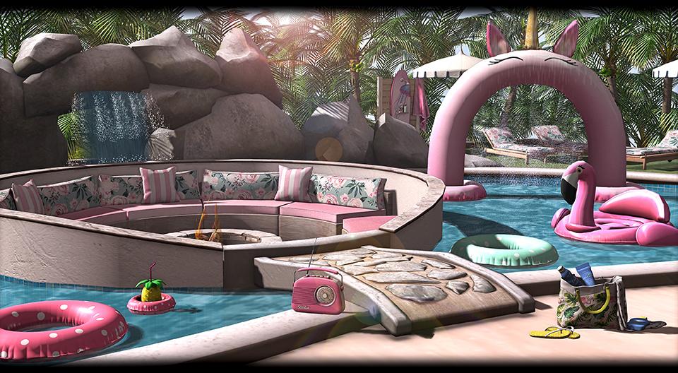 ASTRALIA - La Isla Pool