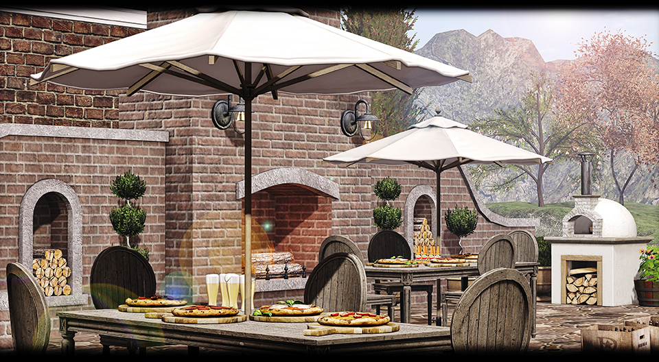 GOOSE - Fireplace terras