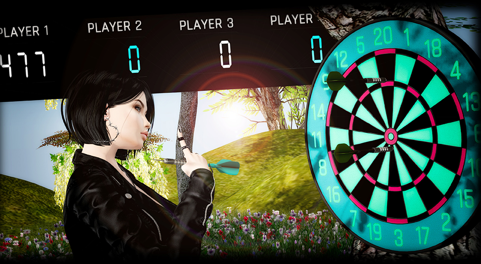 MadPea - Dartboard - Premium Group Gift