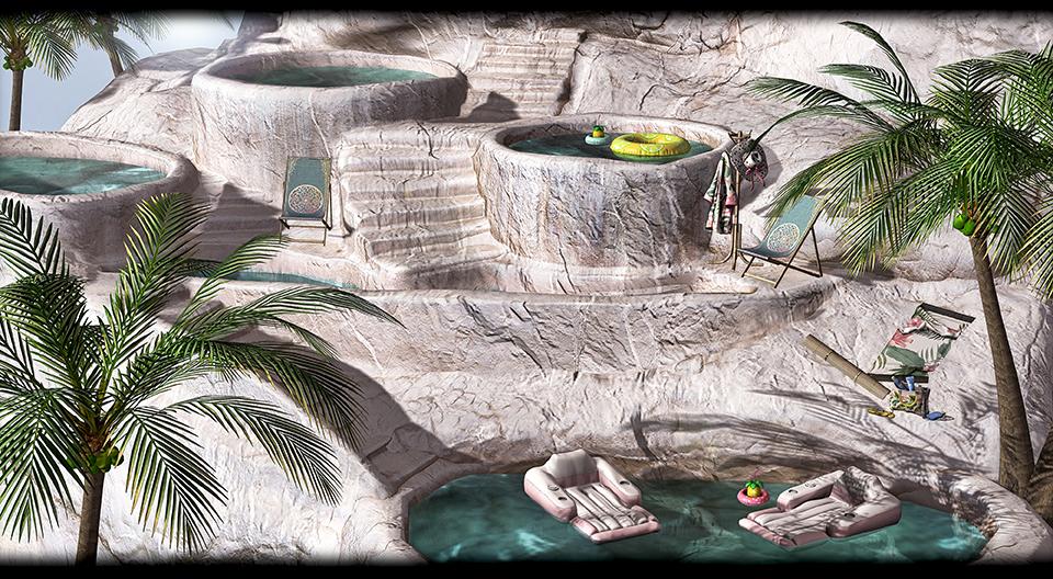 MINIMAL - Limestone Pools