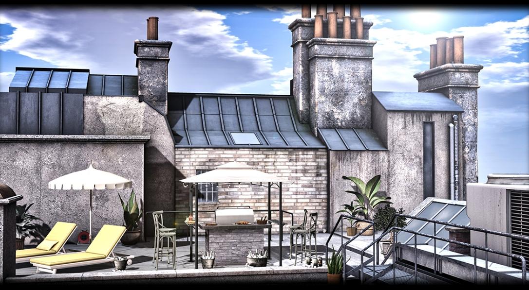 MINIMAL - London Rooftop Scene