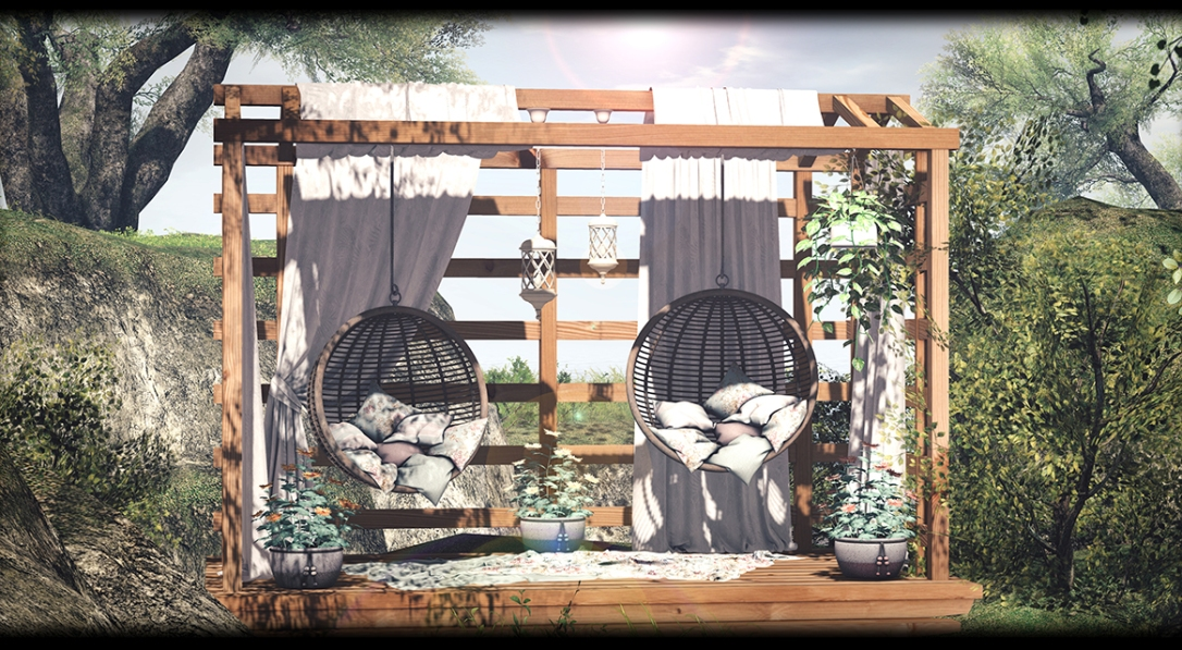 Dreamland Designs - DD Olivet Romantic Pergola