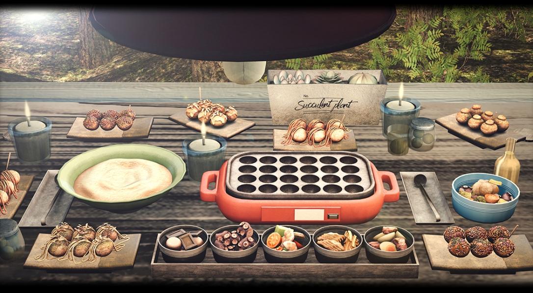 [Cinoe] - Takoyaki party